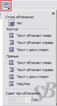 Как сделать обтекание текста в вордпресс