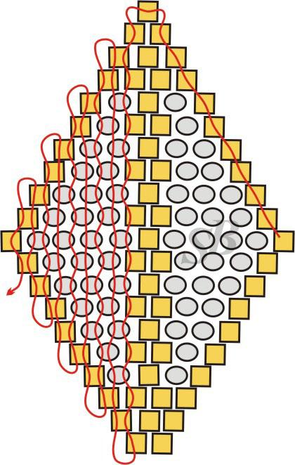 как читать схему мозаичного жгута