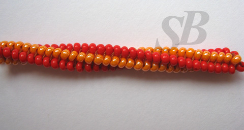 схема плетения из бисера спирального жгута: Alive most commonly.