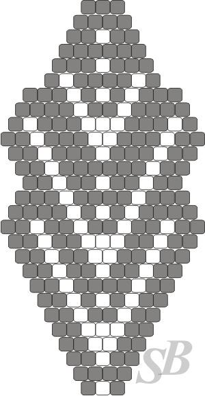 Лист кирпичное плетение